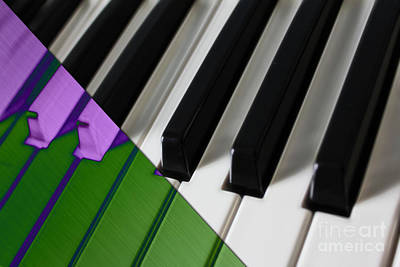 Pop Art Mixed Media - Piano Collection by Marvin Blaine