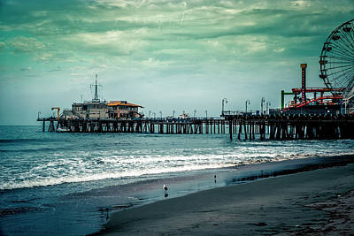 Photograph - Santa Monica Pier Collection-23/36 by Gene Parks