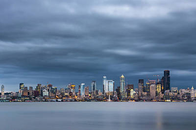 Photograph - Seattle by Evgeny Vasenev