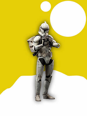 Star Wars Mixed Media - Star Wars Stormtrooper Collection by Marvin Blaine