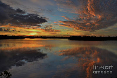 Photograph - 20- Sunset At Burnt Bridge by Joseph Keane
