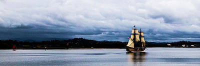 Outerspace Patenets Rights Managed Images - Tall Ships Coos Bay Royalty-Free Image by Angus Hooper Iii