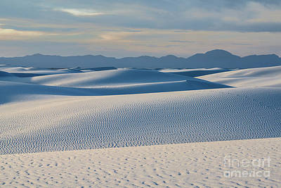 Photograph - The Unique And Beautiful White Sands National Monument In New Mexico. by Jamie Pham