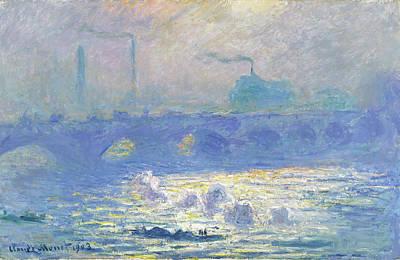 Painting - Waterloo Bridge by Claude Monet