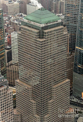 Photograph - 200 Vesey Street - Three World Financial Center Aerial Photo by David Oppenheimer