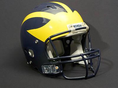 2000s Wolverine Helmet Art Print