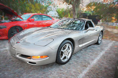 Photograph - 2001 Corvette Ls1 C200 by Rich Franco