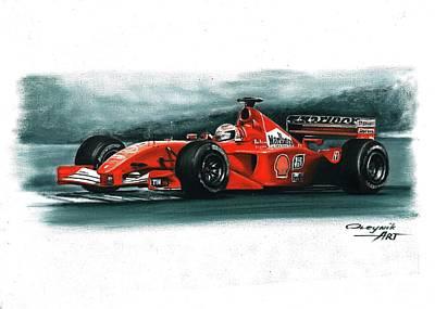 2001  Ferrari F2001 Original by Artem Oleynik