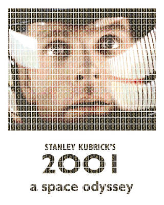 Kubrick Painting - 2001 by Gary Hogben