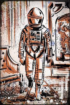 2001 Art Print by Joseph Badon