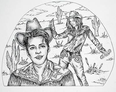 Drawing - 2001 by Joseph Lawrence Vasile