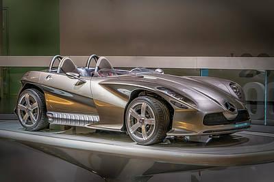 Photograph - 2001 Mercedes-benz Sports Car 7r2_dsc8217_05102017  by Greg Kluempers