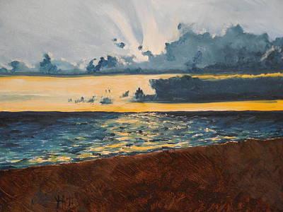 Steampunk - 2001 Venice Sunset by Melissa Hill
