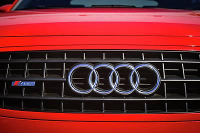 Photograph - 2002 Audi Emblem -0083c2 by Jill Reger