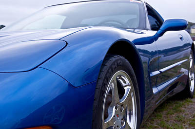 Photograph - 2002 Chevrolet Corvette by Glenn Gordon