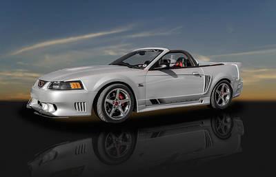Photograph - 2002 Saleen 281 Supercharged Speedster Mustang - 1 by Frank J Benz