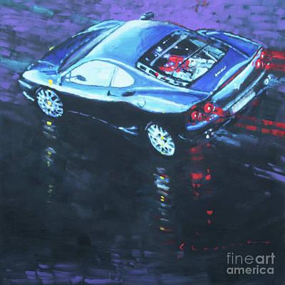 Painting - 2003 Ferrari 360 Challenge by Yuriy Shevchuk