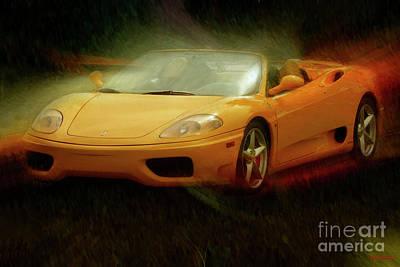 Photograph - 2003 Ferrari 360f1 by Blake Richards
