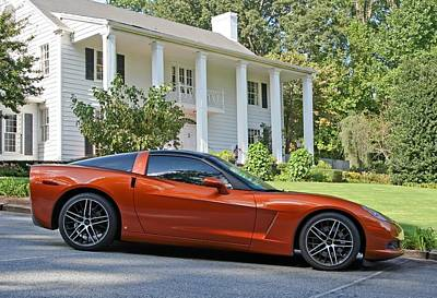 Photograph - 2005 Corvette C6 by John Black