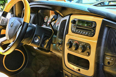 Photograph - 2005 Dodge Ram Rumble Bee # 3 by Allen Beatty