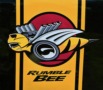 Photograph - 2005 Dodge Ram Rumble Bee # 5 by Allen Beatty