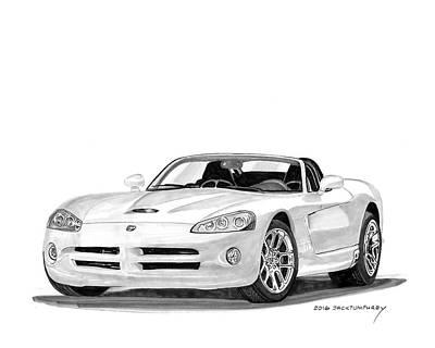 2005 Dodge Srt 10 Roadster Print by Jack Pumphrey
