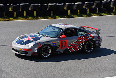 Photograph - 2005 Porsche 997 C2s by Mike Martin