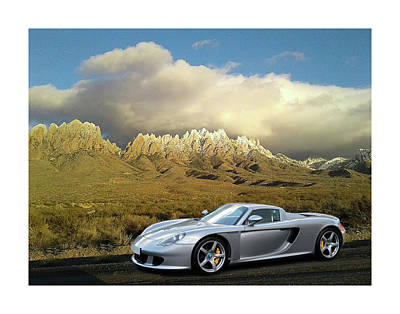Photograph - 2005 Porsche Carrera Gt by Jack Pumphrey
