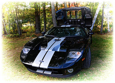 2006 Ford Gt Art Print by Mike Martin