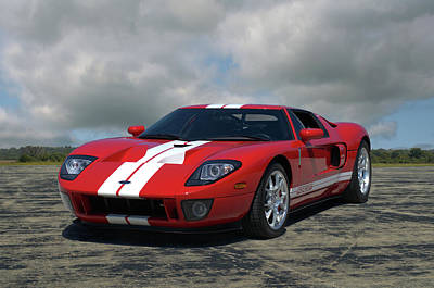 Photograph - 2006 Ford Gt40 by Tim McCullough