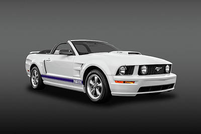 Photograph - 2006 Ford Mustang Gt500 Convertible  -  06fdgtcvfa8959 by Frank J Benz