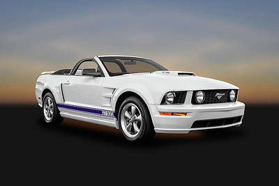 Photograph - 2006 Ford Mustang Gt500 Convertible  -  06fdmusgt8959 by Frank J Benz