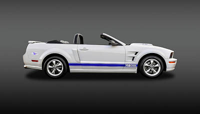 Photograph - 2006 Ford Mustang Gt500 Convertible  -  06fdmustgtfa8963 by Frank J Benz