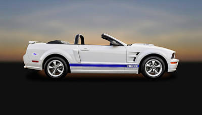 Photograph - 2006 Ford Mustang Gt500 Convertible  -  06mustgt8963 by Frank J Benz