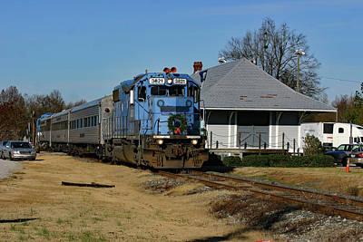 Photograph - 2006 Lancaster Santa Train Color 50 by Joseph C Hinson Photography