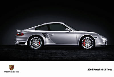 Digital Art - 2006 Porsche 911 Turbo. by Mohamed Elkhamisy