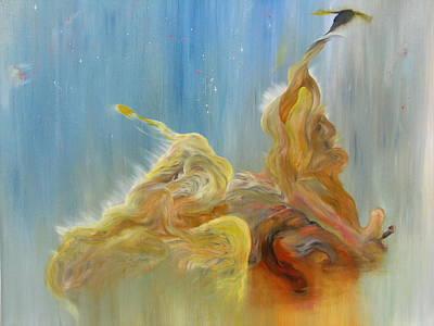 Eagle Nebula Painting - 2008 #2 by Joseph Licata
