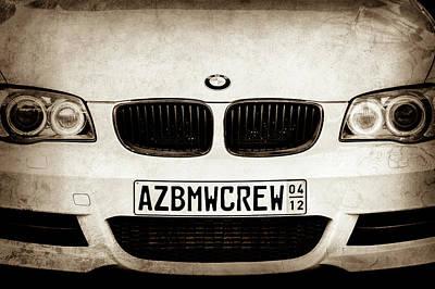 Photograph - 2008 Bmw Grille Emblem -1136s by Jill Reger
