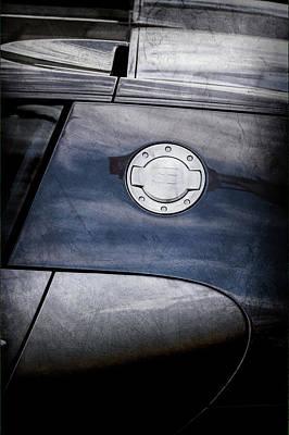 2008 Photograph - 2008 Bugatti Veyron Emblem -0634ac by Jill Reger