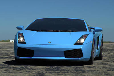 Photograph - 2008 Lamborghini Gallardo by Tim McCullough