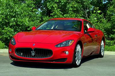 Photograph - 2008 Maserati Granturismo by Tim McCullough