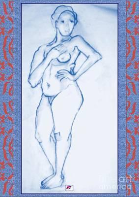 Digital Art - 2009 Figure Study 1 by Carol Rashawnna Williams