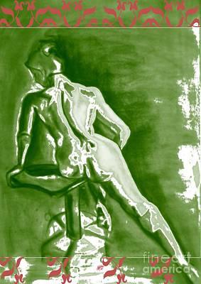 Digital Art - 2009 Figure Study 5 by Carol Rashawnna Williams