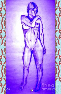 Digital Art - 2009 Figure Study 7 by Carol Rashawnna Williams
