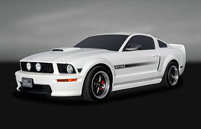 Photograph - 2009 Ford Mustang Gt/cs California Special Coupe  -  09fdgtcsgry9818 by Frank J Benz