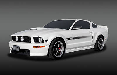 Photograph - 2009 Ford Mustang Gt/cs California Special Coupe  -  2009fdgtcsfa9818 by Frank J Benz