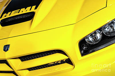 Photograph - 2009 Hemi Charger Srt by Brad Allen Fine Art