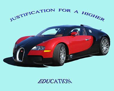 Photograph - 2010 Bugatti Veyron  by Jack Pumphrey