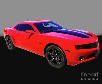 Photograph - 2010 Chevrolet Camaro Ss Ls3 V8 Coupe - Doc Braham - All Right by Doc Braham
