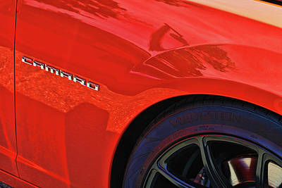 Photograph - 2010 Chevy Camaro # 2 by Allen Beatty
